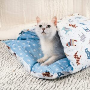 Movable Winter Warm Pet Bed