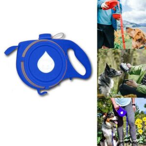 Dog Leash With Water Bottle